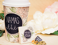 Namasthé - Illustration/Branding