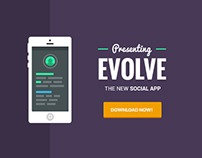 Evolve - Animated Mobile App Banner Templates