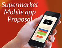 Supermarket mobile app proposal