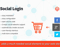 Social Login Extension for Magento