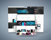 Freebie - 3D Web Presentation Mock-Up