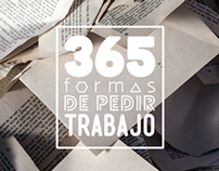 365 FORMAS DE PEDIR TRABAJO