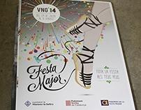 """Cartell """"Festa Major de Vilanova 2014"""""""