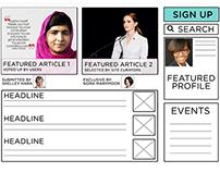 Women's iLab Redesign