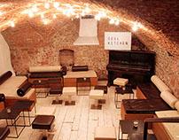 Restyle interior taverna Soul Kitchen - Firenze