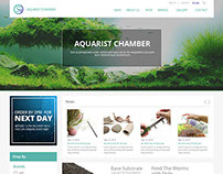 Aquarist Chamber - Online Store Design