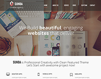 Sunda Agency - Website Design