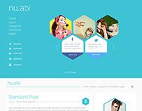 Nu.Abi Blog Design