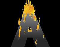 A is Ablaze