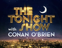 Tonight Show With Conan O'brien Title Sequence