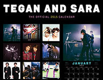 TEGAN AND SARA CALENDAR