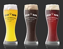 Glass mockup - Beer edition vol 1