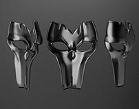 Metal Mask - 3D Model