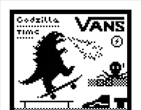 Godzilla-Vans Off The Wall