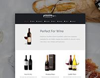 WineHouse WordPress Theme - Front-Page