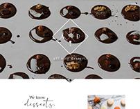 Affinity Desserts Website