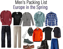 Men's Packing Tips for Travel