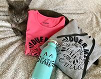 El gato y la anemia, proyecto tipográfico