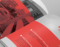 Architectural office brochure