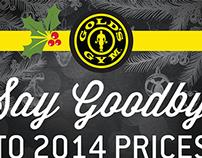 Gold's Gym Holiday: Multiple Locations