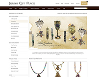Jewish Gift Place Website Re-Design