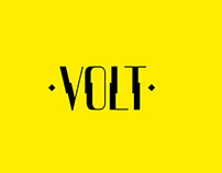 VOLT - Display Typeface