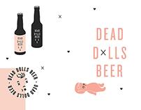 DEAD DOLLS BEER Branding
