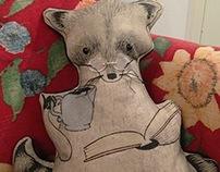 Reginald - Art Doll with Book