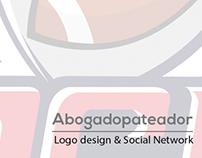 Logo Abogadopateador y Redes Sociales