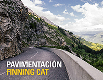 Finning Cat - Paving