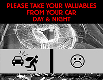 Take Your Valuables From Your Car.