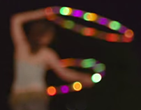 LED Hoop Dance by Theresa at Community Days