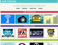 Grid-Based Design Portfolio Site