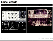 Etude Records Website