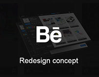 Behance Redesign Concept