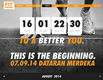 Fit Malaysia Responsive Website