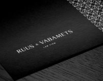 Ruus & Vabamets Identity