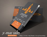 Christmas Sales Brochure Design