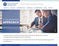 Inverness Graham website & Information Architecture