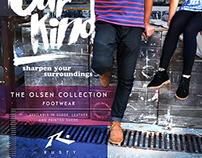 Rusty Footwear Promotional Designs