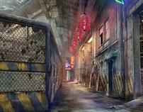 R.O.A.C.H. - oriental cyber punk ledge