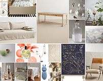 COLOUR THEMES: Interior and Graphic Moodboard