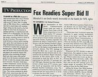 "Fox Readies ""Super Bid II"" for NFL Television Rights"