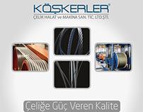 Köşkerler Çelik Halat / Koskerler steel ropes