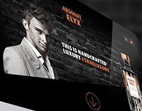 Absolut Elyx  |  Landing Page