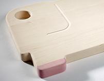 Noah's Elephant, cutting board