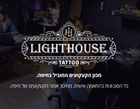 Lighthouse - tattoo web design