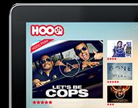 SingTel HOOQ: Mobile Ad Mock