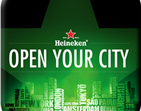Heineken Cities App Design Concept