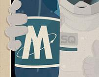 Illustrations pour le comics sur la websérie Projet-M